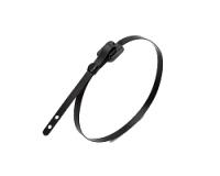 Стяжка кабельная нержавеющая бугельного типа