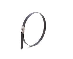 Стяжки кабельные стальные с полимерным покрытием 4,6х125 (100 шт)