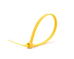Кабельные стяжки желтые 5х300 (100 шт)