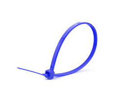 Кабельные стяжки синие 4х200 (100 шт)