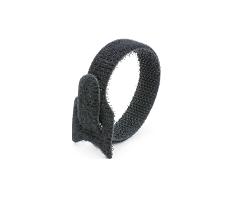 Кабельная стяжка липучка черная 12х135 (20 шт)