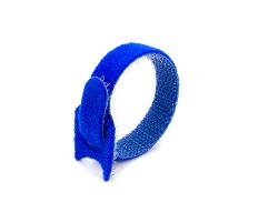 Кабельная стяжка липучка синяя 12х135 (20 шт)