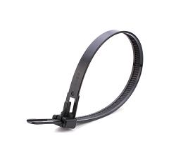 Стяжка кабельная многоразовая 7,5х200 (100 шт)